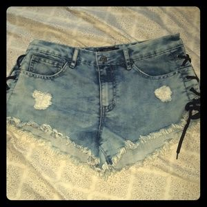 Size 25 shorts from Forever 21